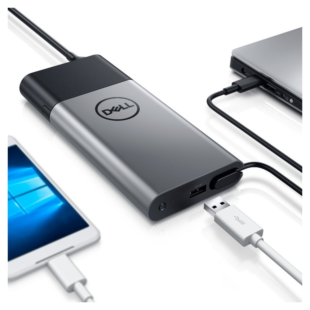 First slide photo of DELL Power Bank 45W Euro Hybrid Adapter