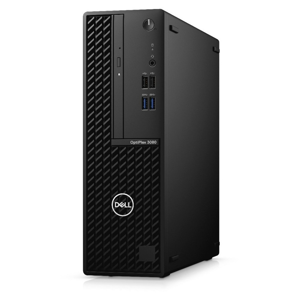 First slide photo of DELL PC OptiPlex 3080 SFF/i3-10100/8GB/256GB SSD/UHD Graphics 630/DVD-RW/Win 10 Pro/5Y NBD