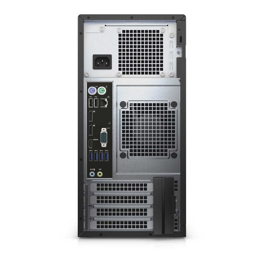First slide photo of DELL Workstation PC Precision 3620 MT /E3-1220v6/8GB/2x 1TB HDD RAID 1/Quadro P400 2GB/DVD-RW/Win 10 Pro/5Y NBD