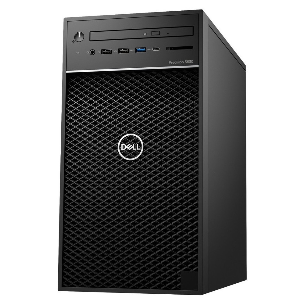 First slide photo of DELL Workstation PC Precision 3630 MT /Xeon E-2136/16GB/256GB SSD + 1TB HDD/Quadro P620 2GB/DVD-RW/Win 10 Pro/5Y NBD