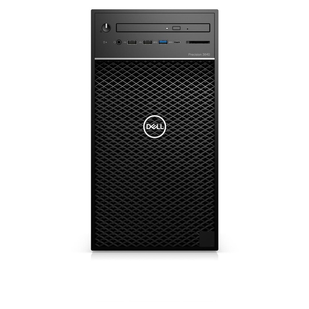 First slide photo of DELL Workstation PC Precision 3640 MT/W-1270P/16GB/512GB SSD/Quadro P2200 5GB/DVD-RW/Win 10 Pro/3Y ProSpt