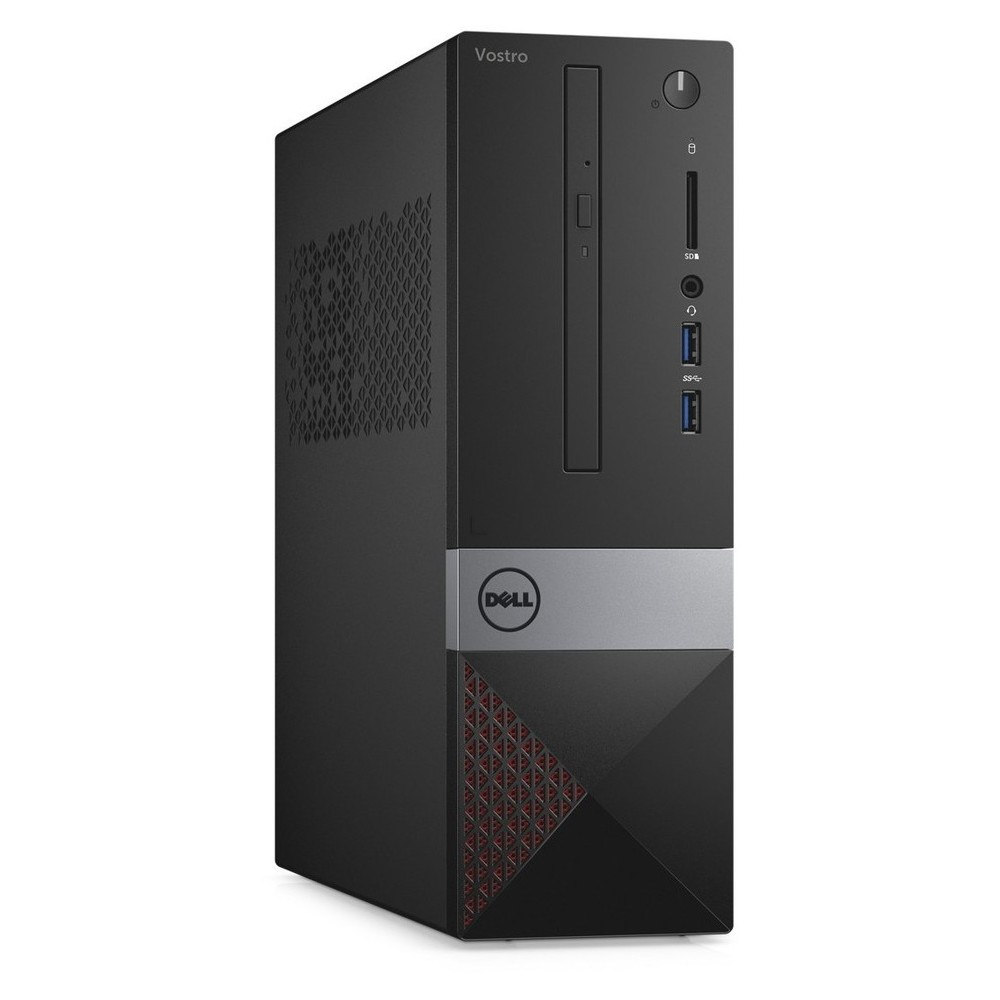 First slide photo of DELL PC Vostro 3268 SFF/i3-7100/4GB/500GB HDD/HD Graphics 630/DVD-RW/Win 10 Pro/3Y NBD
