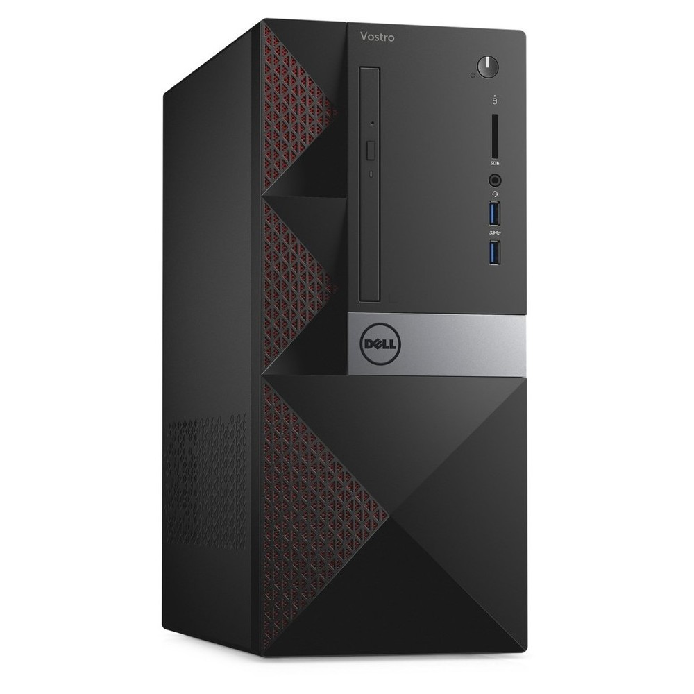 First slide photo of DELL PC Vostro 3667 MT/i3-6100/4GB/500GB HDD/HD Graphics 630/DVD-RW/WiFi/Win 10 Pro/3Y NBD