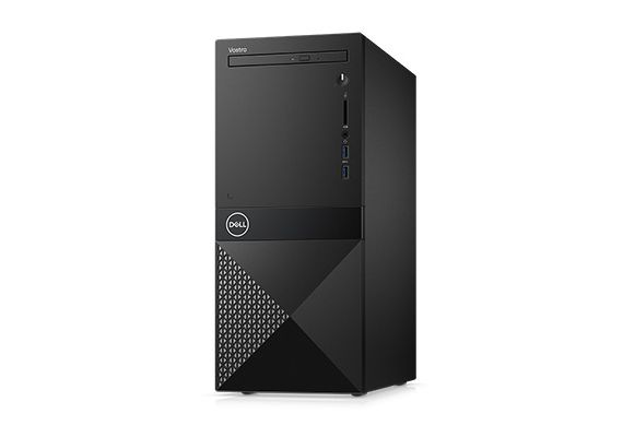 First slide photo of DELL PC Vostro 3670 MT/i3-8100/4GB/1TB HDD/UHD Graphics 630/DVD-RW/WiFi/Win 10 Pro/3Y NBD