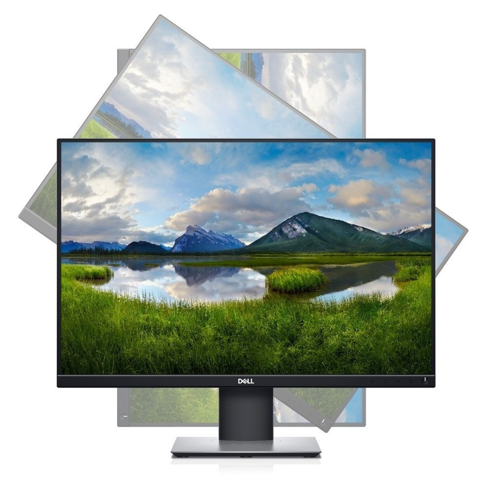 First slide photo of DELL Monitor P2421 24.1'' 1920x1200 IPS, HDMI, DP, DVI, VGA, Height Adjustable, 3YearsW