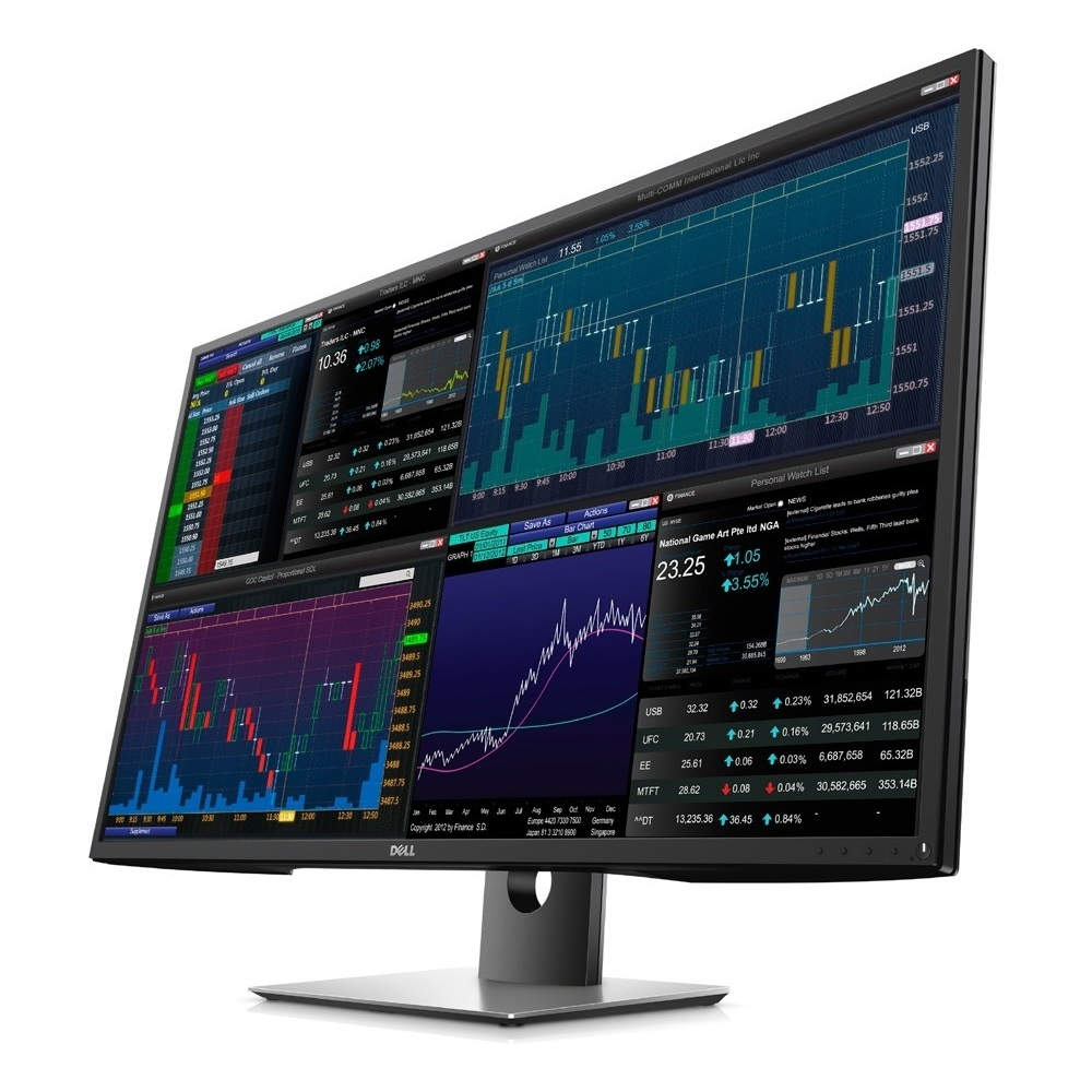 First slide photo of DELL Monitor P4317Q 43'' IPS, UHD 4K, HDMI, DisplayPort, Speakers, 3YearsW