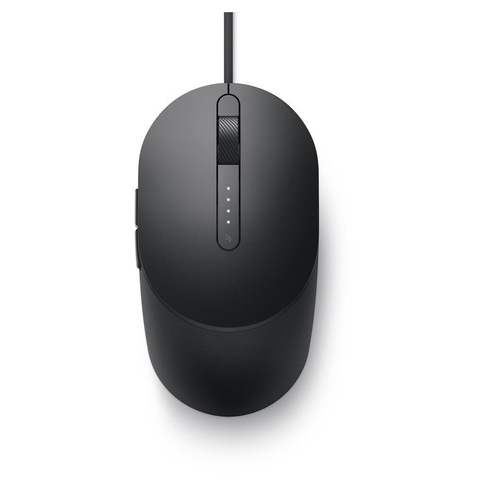 First slide photo of DELL Laser Wired Mouse - MS3220 - Black