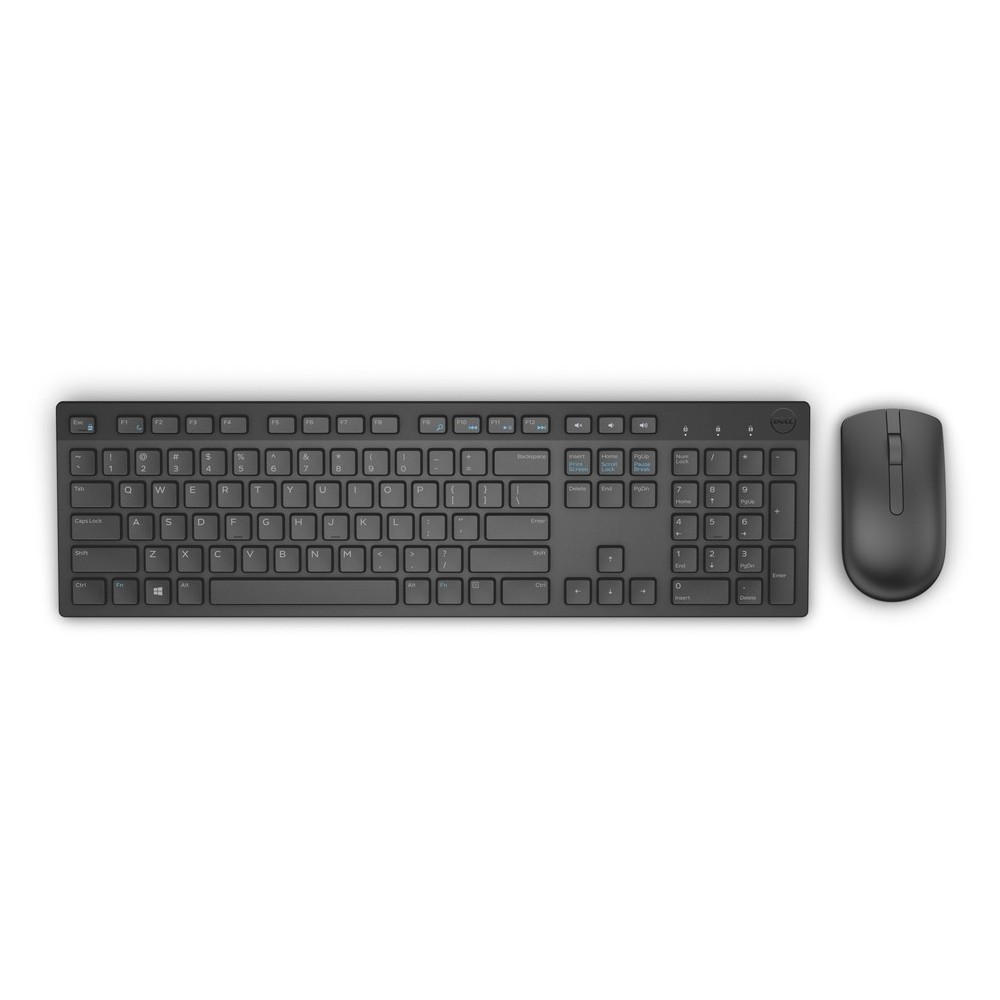 First slide photo of DELL Keyboard & Mouse KM636 Greek Wireless, Black