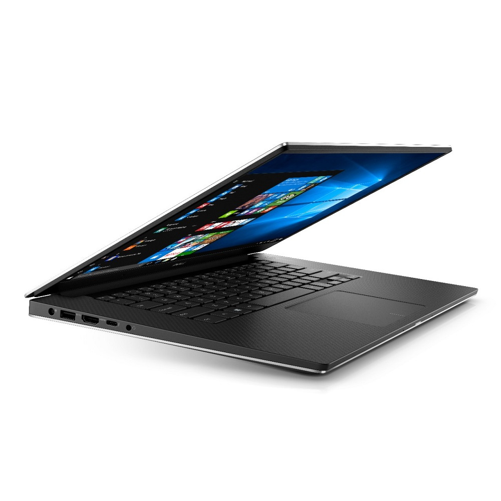 First slide photo of DELL Workstation Laptop Precision 5520 15.6'' UHD Touch/i7-7820/8GB/256GB SSD/Quadro M1200 4GB/Win 10 Pro/3Y NBD/Silver