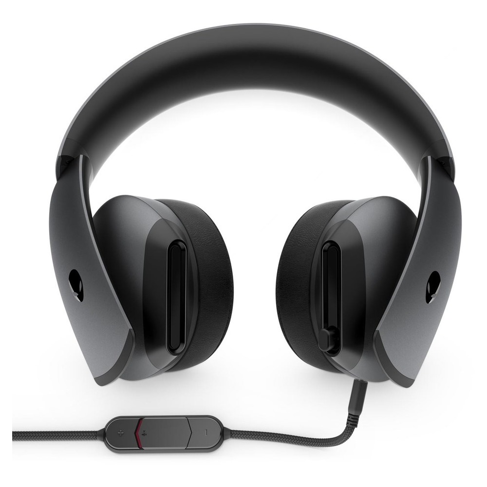 First slide photo of DELL Alienware 7.1 Headset Gaming - AW510H - Dark Side of the Moon