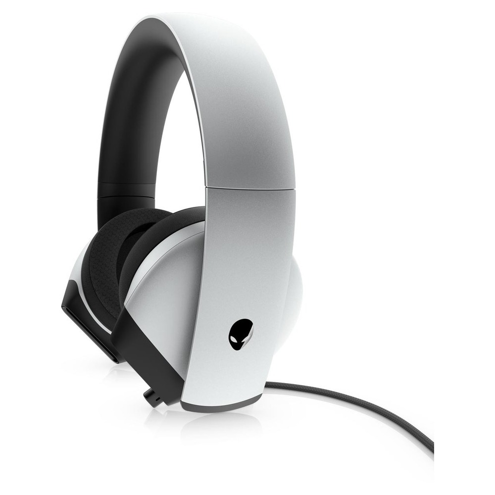 First slide photo of DELL Alienware 7.1 Headset Gaming - AW510H - Lunar Light