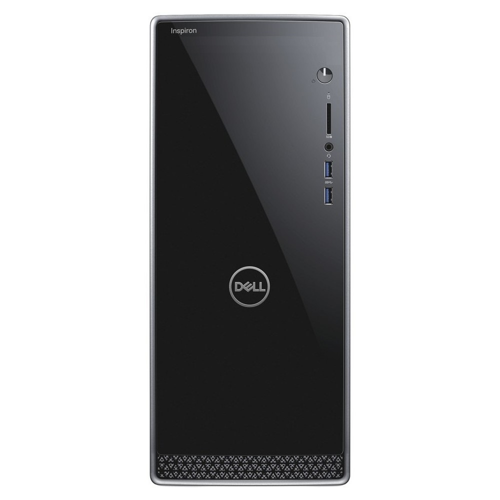 First slide photo of DELL PC Inspiron 3670 MT/i3-8100/4GB/1TB + 128GB SSD/NVIDIA GeForce GT 710 2GB/No optical drive/WiFi/Win 10 Pro/2Y NBD