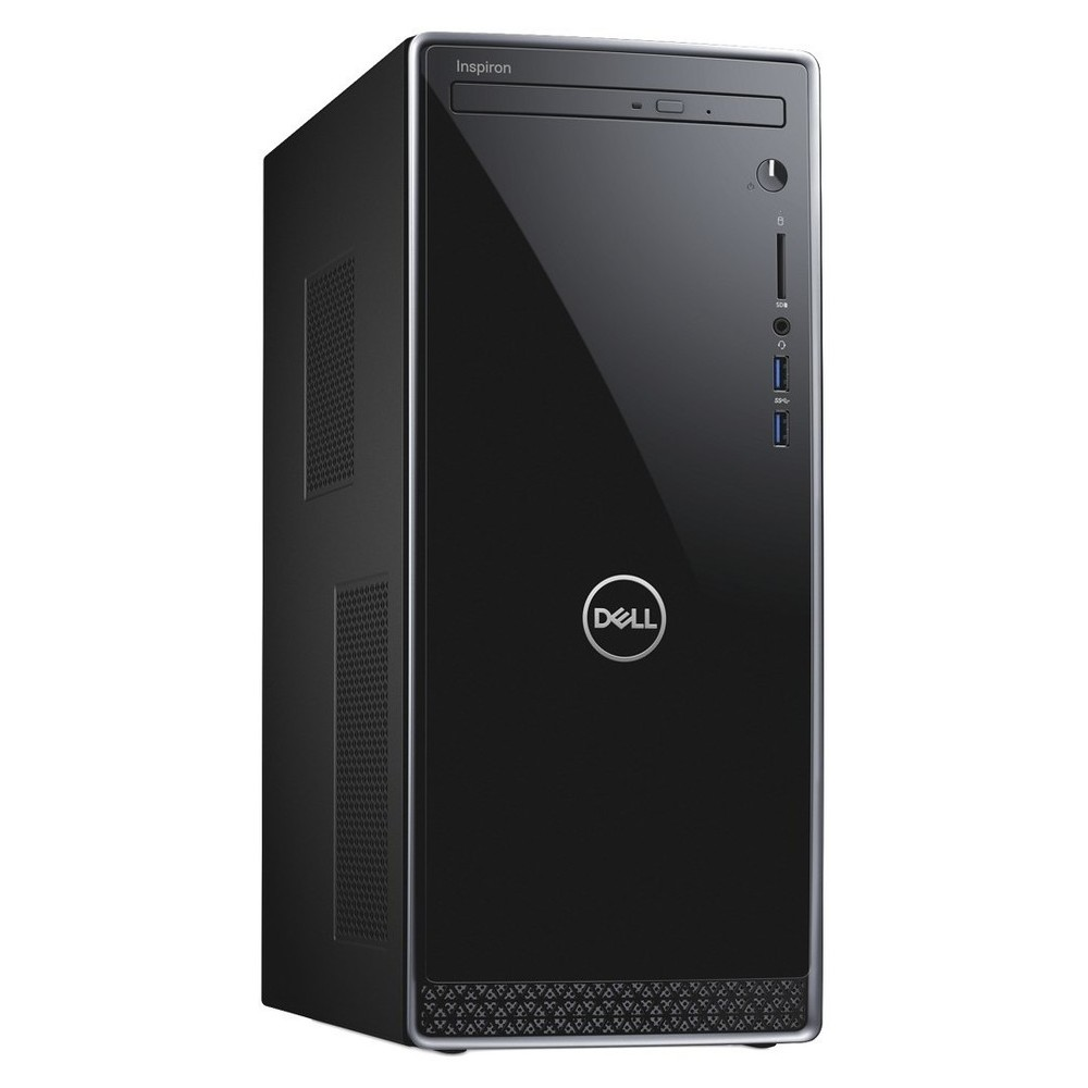First slide photo of DELL PC Inspiron 3670 MT/i7-8700/8GB/1TB + 128GB SSD/NVIDIA GeForce GTX 1050Ti 4GB/No optical drive/WiFi/Win 10 Pro/4Y NBD