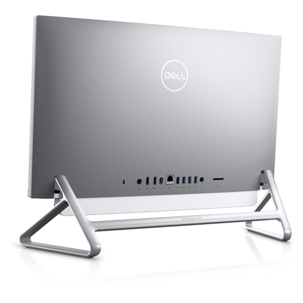 First slide photo of DELL All In One PC Inspiron 5490 23.8'' FHD/i3-10110U/8GB/256GB SSD/UHD Graphics/Win 10 Pro/2Y NBD/Pafilia Stand/Silver-White