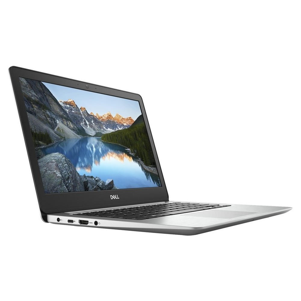 First slide photo of DELL Laptop Inspiron 5370 13,3'' FHD/i5-8250U/4GB/256GB SSD/Radeon 530 2GB/FRP/Win 10 Pro/1Y PRM NBD/Silver