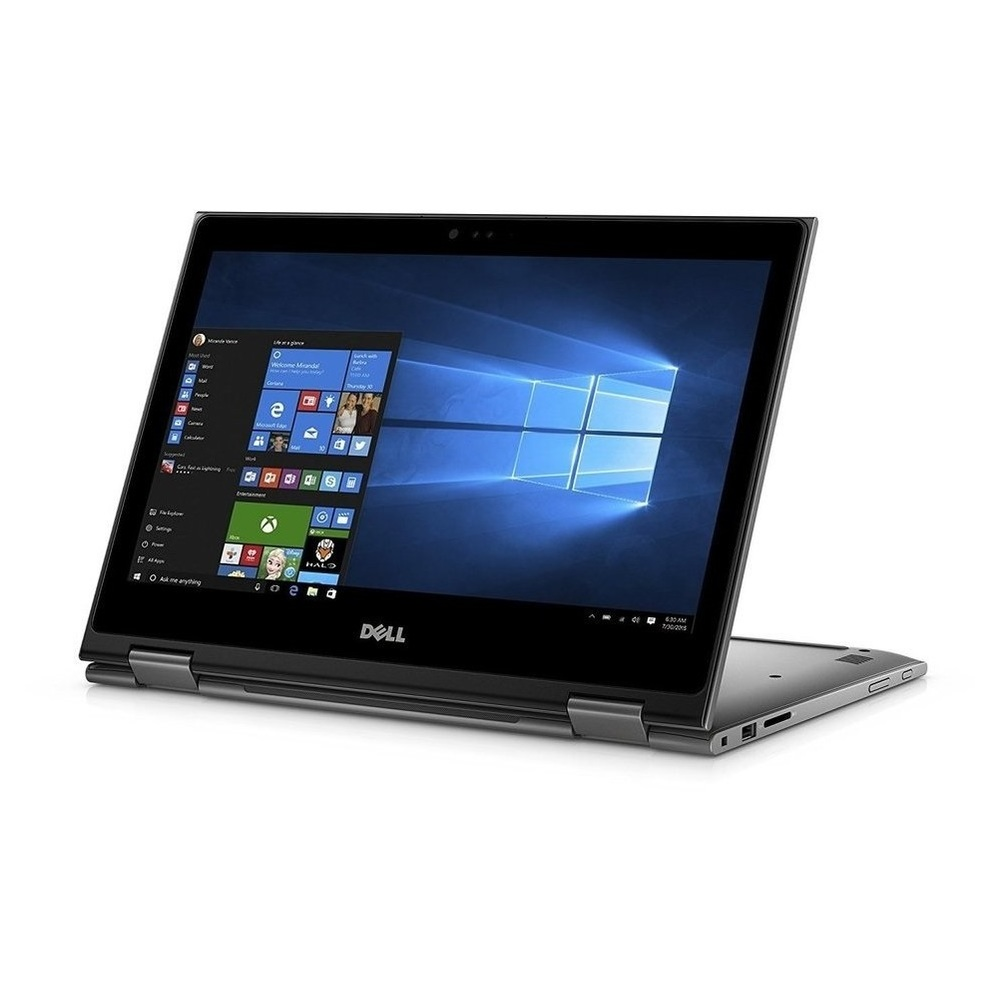 First slide photo of DELL Laptop Inspiron 5379 2in1 13,3'' FHD Touch/i7-8550U/8GB/256GB SSD/HD Graphics 620/Win 10 Pro/1Y PRM/Era Gray