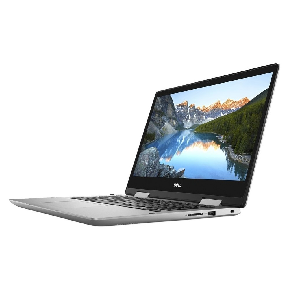First slide photo of DELL Laptop Inspiron 5482 2in1 14'' FHD Touch/i7-8565U/8GB/256GB SSD/NVIDIA MX130 + 2GB GDDR5 Vram/Win 10 Pro/1Y PRM/Silver