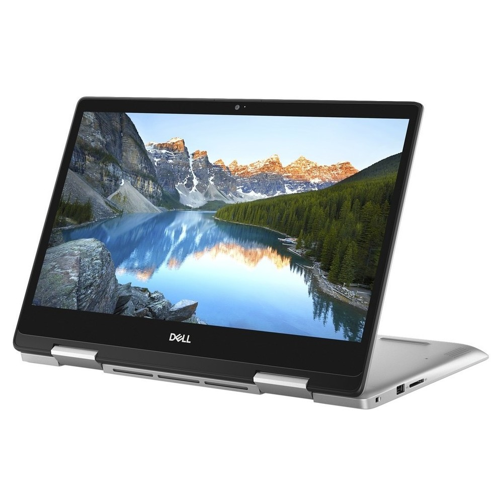 First slide photo of DELL Laptop Inspiron 5482 2in1 14'' FHD Touch/i3-8145U/4GB/256GB SSD/UHD Graphics 620/Win 10 Pro/1Y PRM/Silver