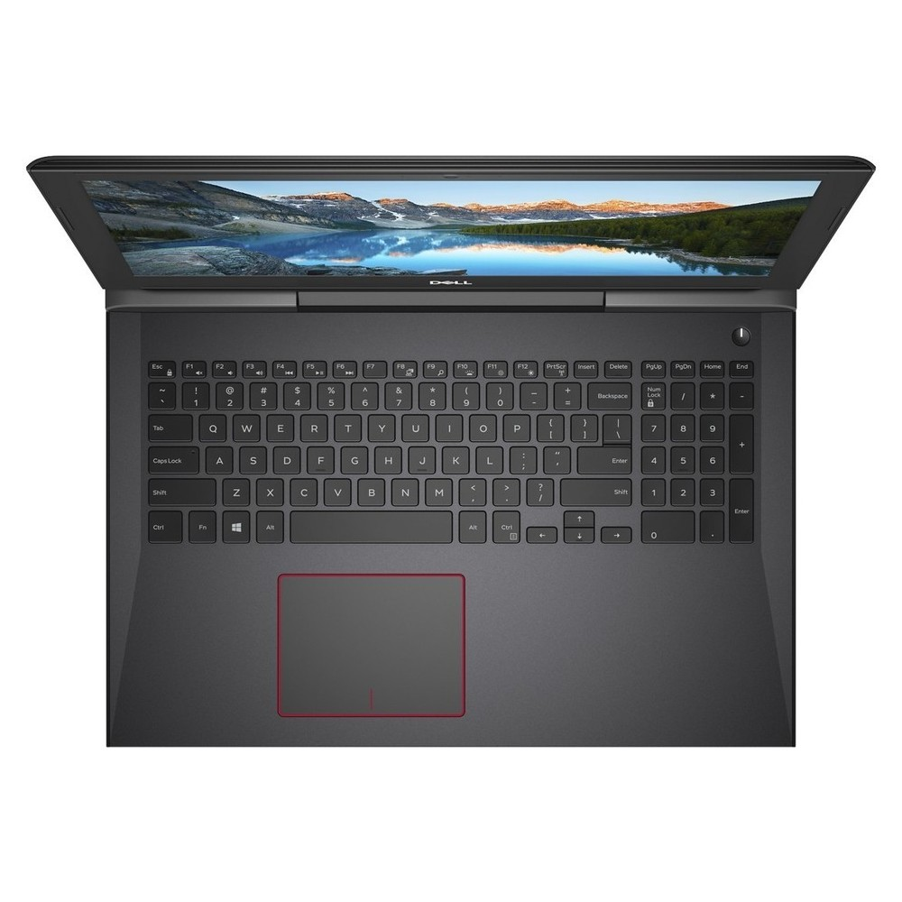 First slide photo of DELL Laptop G5 5587 Gaming 15,6'' FHD/i7-8750H/16GB/256GB SSD + 1TB/GeForce GTX 1060 6GB/Win 10/1Y PRM/Beijing Red
