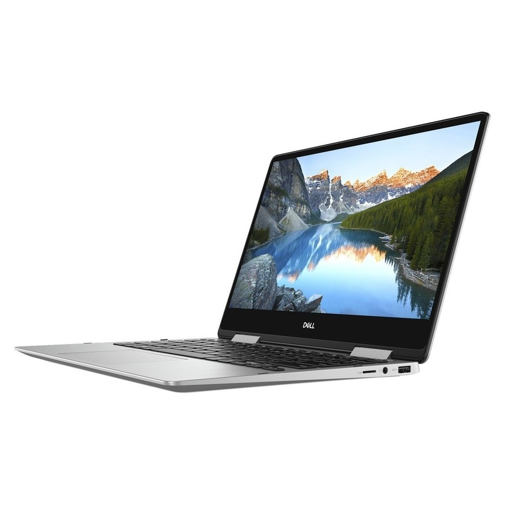 First slide photo of DELL Laptop Inspiron 7386 2in1 13,3'' FHD Touch/i7-8565U/16GB/512GB SSD/UHD Graphics 620/Win 10 Pro/1Y PRM/Silver