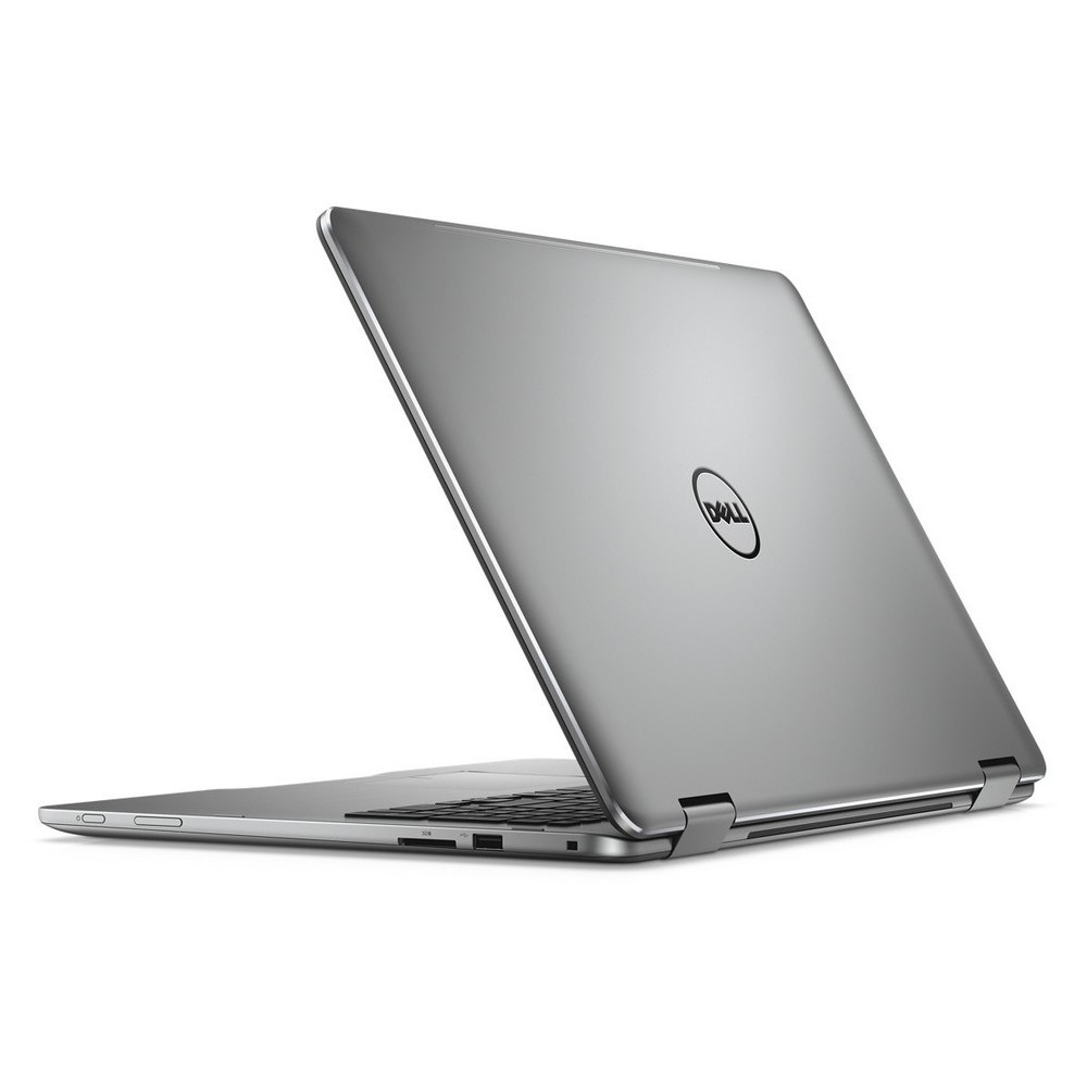 First slide photo of DELL Laptop Inspiron 7773 2in1 17,3'' FHD Touch/i7-8550U/16GB/512GB SSD/GeForce MX150/Win 10 Pro/1Y PRM/Silver
