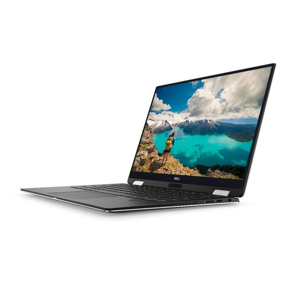 First slide photo of DELL Laptop XPS 13 9360 2in1 13,3'' QHD Touch/i5-7Y54/8GB/256GB SSD/HD Graphics/Win 10/2Y NBD/Silver