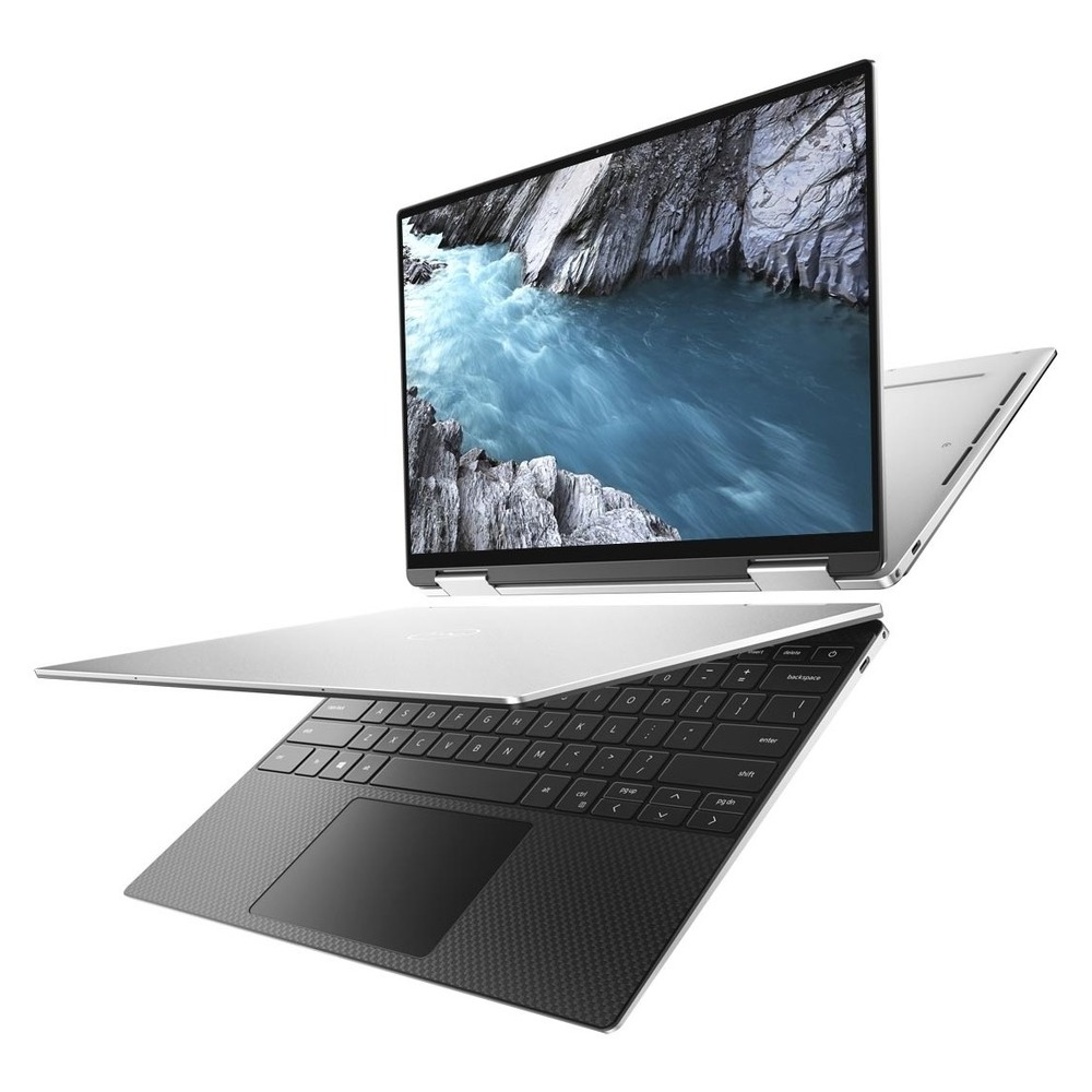 First slide photo of DELL Laptop XPS 13 7390 2in1 13.4'' FHD+ Touch/i7-1065G7/16GB/512GB SSD/Iris Plus Graphics/Win 10 Pro/2Y PRM NBD/Platinum Silver – Black interior