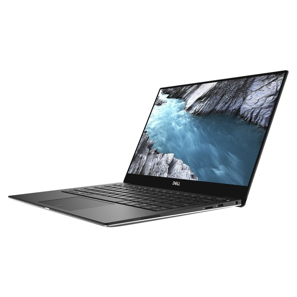 First slide photo of DELL Laptop XPS 13 9370 13,3'' UHD Touch/i7-8550U/16GB/512GB SSD/UHD Graphics 620/Win 10 Pro/2Y PRM/Silver