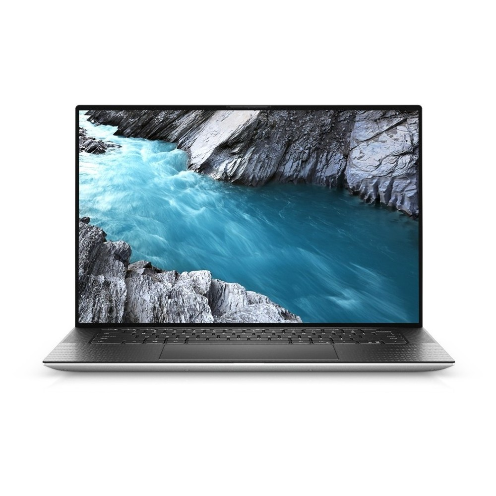 First slide photo of DELL Laptop XPS 15 9500 15.6'' FHD+/i7-10750H/8GB/512GB SSD/GeForce GTX 1650 Ti 4GB/Win 10 Pro/2Y PRM/Platinum Silver - Black Carbon