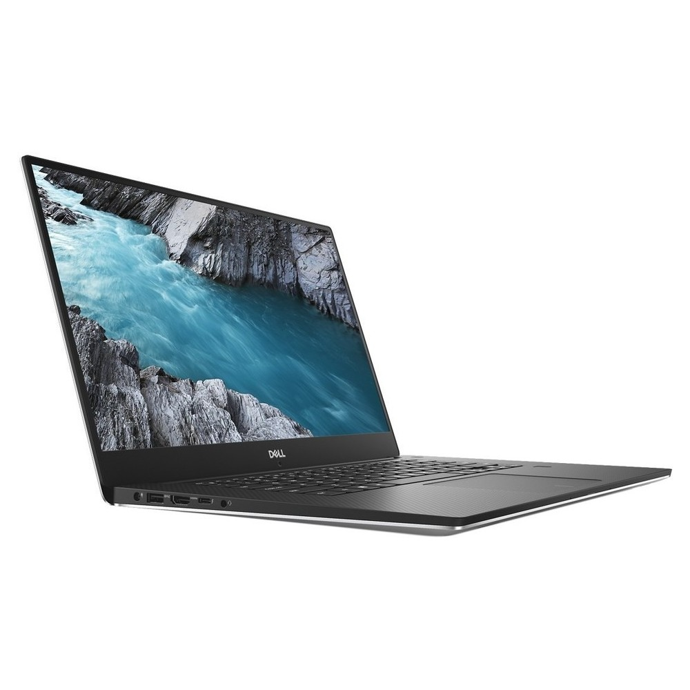 First slide photo of DELL Laptop XPS 15 9570 15,6'' UHD Touch /i7-8750H/16GB/512GB SSD/NVIDIA GeForce GTX 1050Ti 4G/Win 10 Pro/2Y PRM/Silver