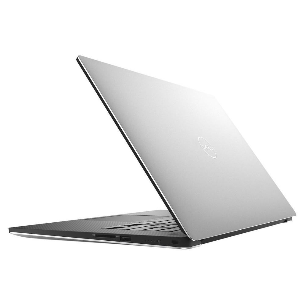 First slide photo of DELL Laptop XPS 15 9570 15,6'' FHD/i7-8750H/8GB/128G SSD+1T HDD/NVIDIA GeForce GTX 1050Ti 4G/Win 10 Pro/2Y PRM/Silver