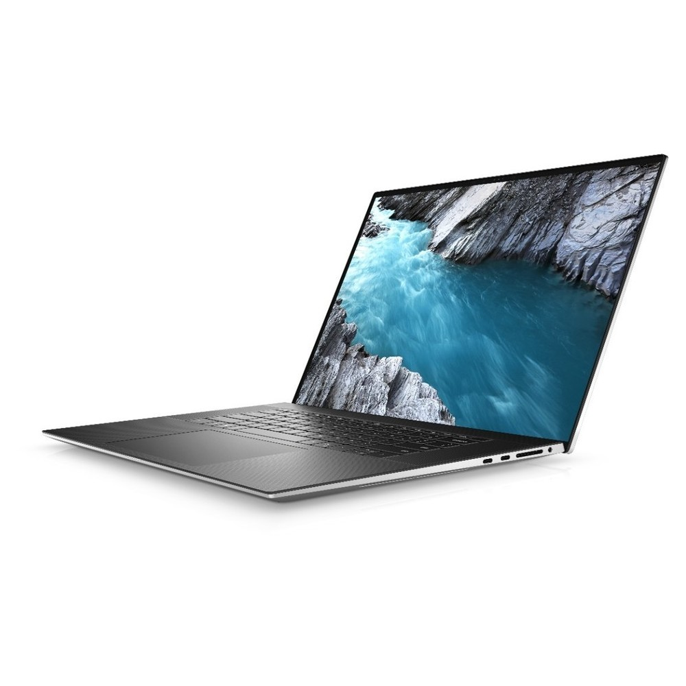First slide photo of DELL Laptop XPS 17 9700 17.0'' UHD+ Touch/i7-10875H/32GB/1TB SSD/GeForce RTX 2060 6GB Max-Q/Win 10 Pro/2Y PRM/Platinum Silver - Black Carbon
