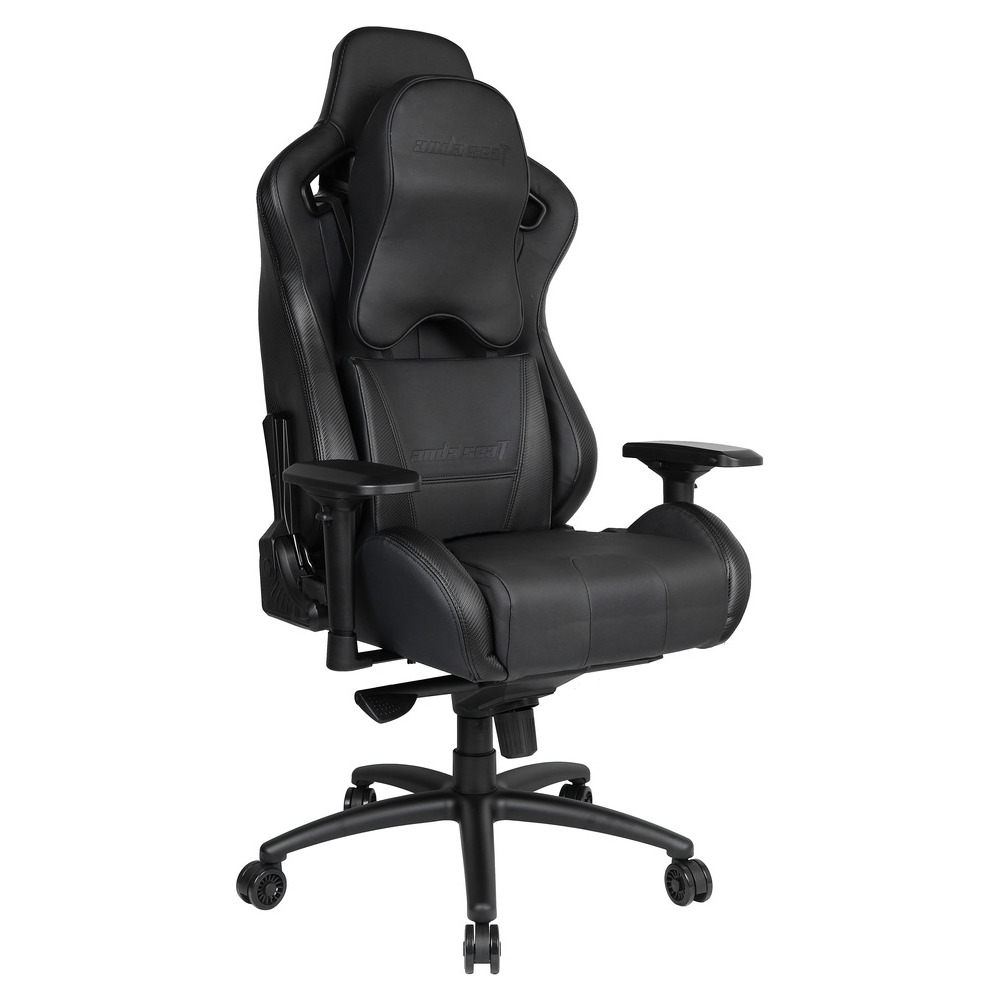 First slide photo of ANDA SEAT Gaming Chair DARK KNIGHT Premium Carbon Black