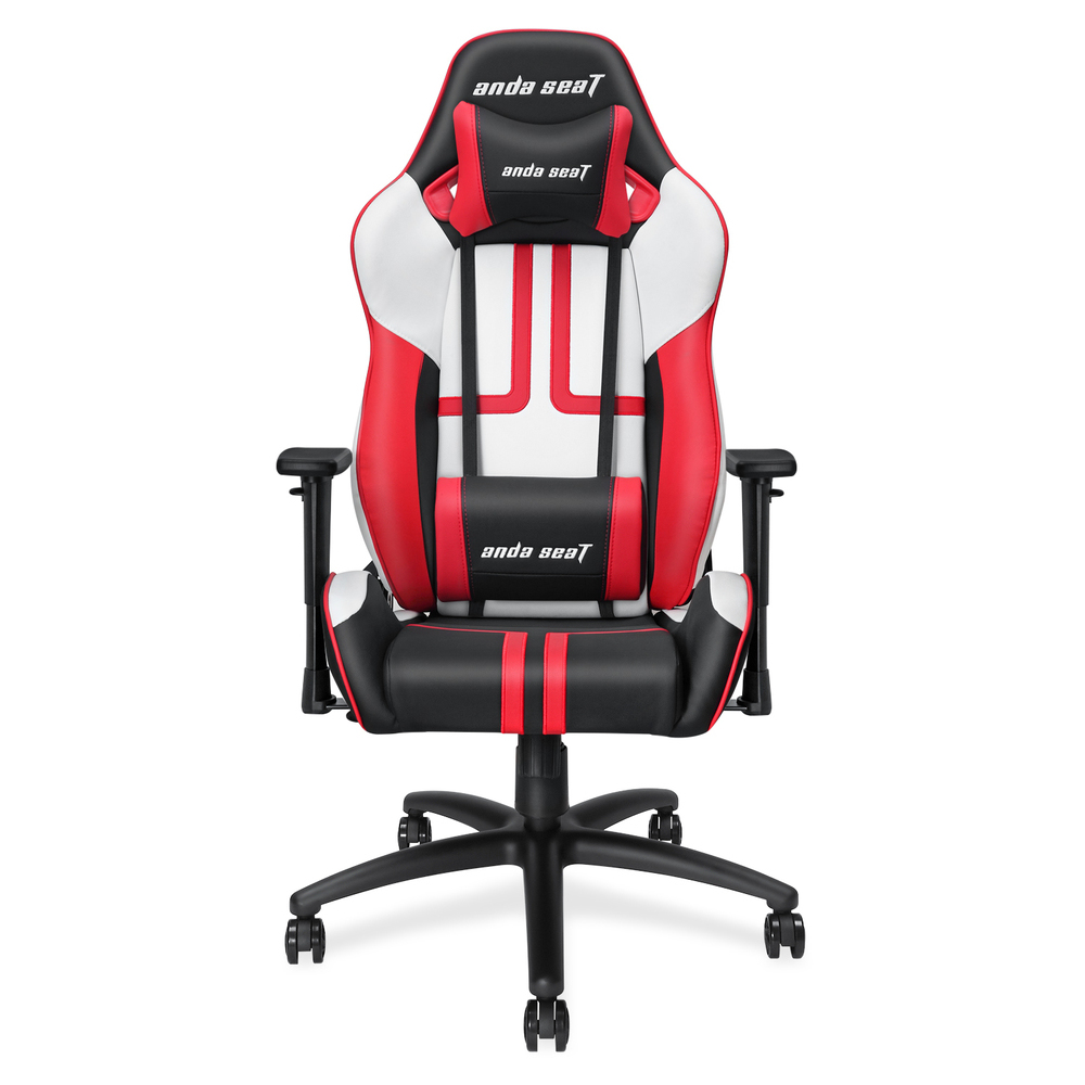 Second slide photo of ANDA SEAT Gaming Chair VIPER Black - White - Red